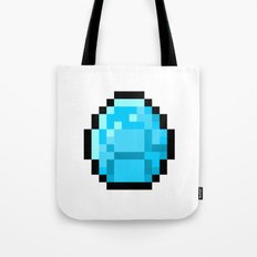8bit pixelated diamond Tote Bag