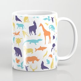 Best animal silhouette pattern Coffee Mug