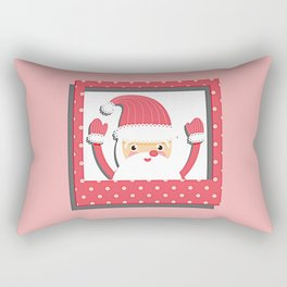 Santa Rectangular Pillow