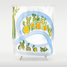 Plant Squad Shower Curtain