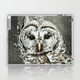 BARRED OWL  Laptop & iPad Skin