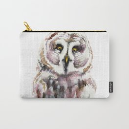Gary The Great Gary Owl. Minimalist Style. Carry-All Pouch