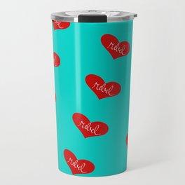 Rebel Heart Travel Mug