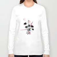 bubbles Long Sleeve T-shirts featuring Bubbles by Stéphanie Brusick / Art by shop