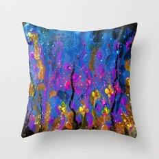 Acrylic spring Throw Pillow
