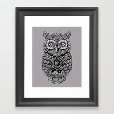 Ancient Owl Framed Art Print