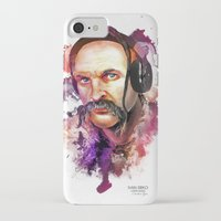 paramore iPhone & iPod Cases featuring Cossack Ivan Sirko listen music by Sitchko Igor