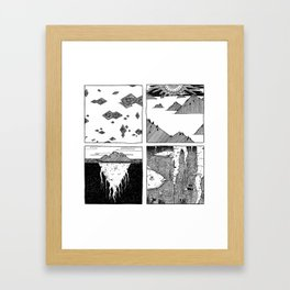 Patera Framed Art Print