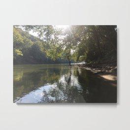 River Swing Metal Print