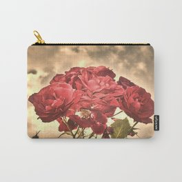 Stormy Sky Roses Carry-All Pouch