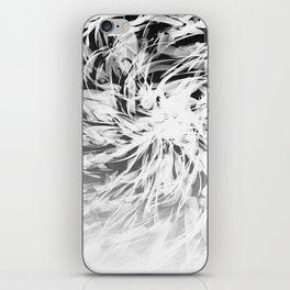 B&W Abstract Spiral iPhone Skin