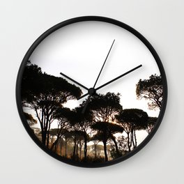 Pineland Wall Clock