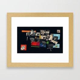 Control Panel 75 Framed Art Print