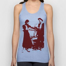 Bonnie and Clyde Unisex Tank Top