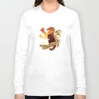 gryffindor Long Sleeve T-shirts featuring Gryffindor by Markusian
