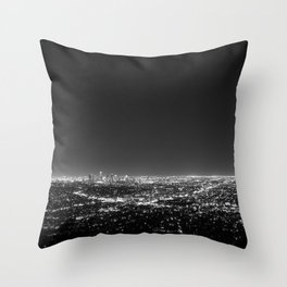 LA Lights Throw Pillow