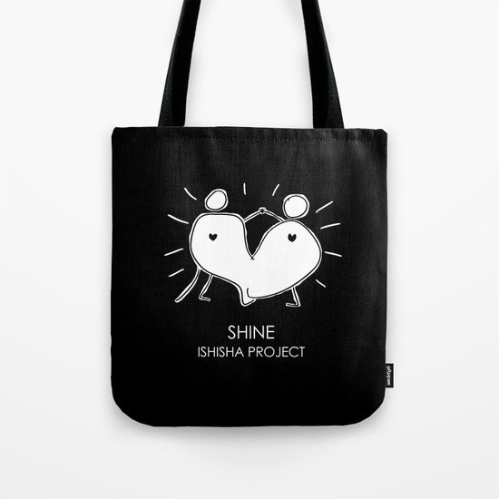 SHINE by ISHISHA PROJECT Tote Bag