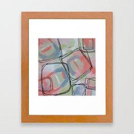 Pink Ice Framed Art Print