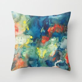 Mindscapes: Did you get hit by a bus or just have a baby? Throw Pillow