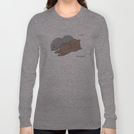 Snuggle? Long Sleeve T-shirt