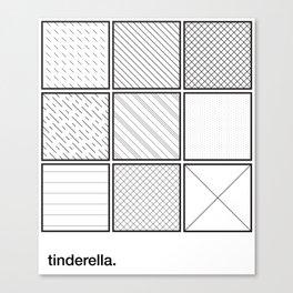 tinderella Canvas Print