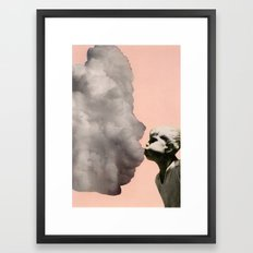 Exhalation Framed Art Print