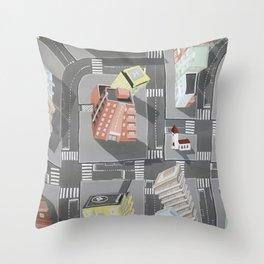 Pharmaville - urban living Throw Pillow