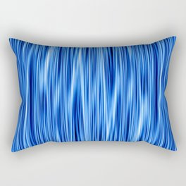 Ambient #8 in electric blue Rectangular Pillow