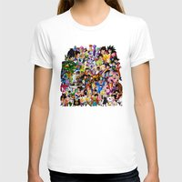dragonball T-shirts featuring DragonBall Z - Insane amount of Characters by Mr. Stonebanks