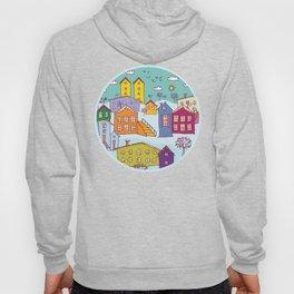 Cityscape Sketch Hoody