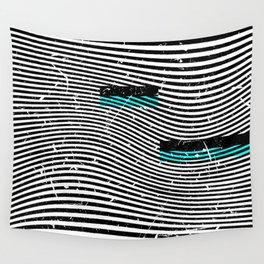 Striposcopy Wall Tapestry