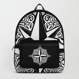 Cindy's Tribal Compass Rose Backpack