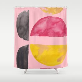 2   | Imperfection | 190325 Abstract Shapes Shower Curtain