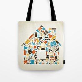 Art the house Tote Bag