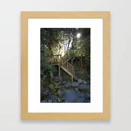 The Stair Framed Art Print