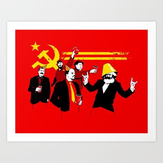 The Communist Party (original) Art Print