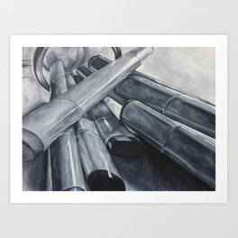 Markers Art Print