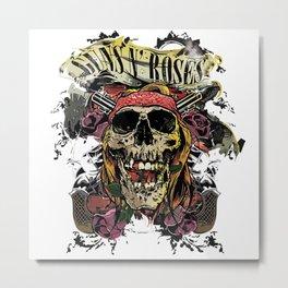 Guns Metal Print