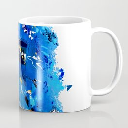 Blue Emotion Coffee Mug