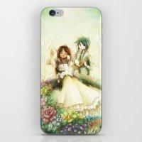 wedding iPhone & iPod Skins featuring Wedding by Achiru