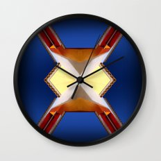 Stucco Paradise III Wall Clock