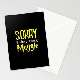 sorry i don't speak muggle. Stationery Cards