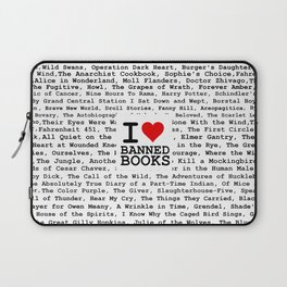 I Heart Banned Books Laptop Sleeve