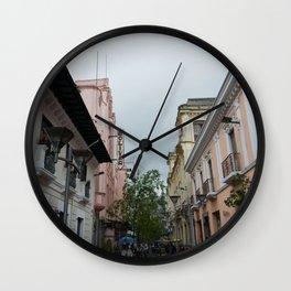 Bolivar Wall Clock