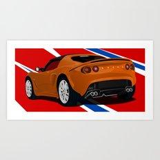 Lotus Elise Art Print