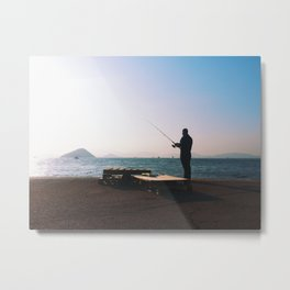 Gone Fishin' [Limited Edition] Metal Print