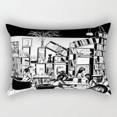 Cafe in Beijing  Rectangular Pillow