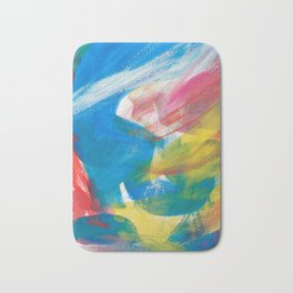 Abstract Artwork Colourful #4 Bath Mat