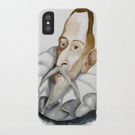 Cervantes iPhone Case