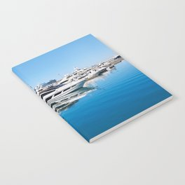Sea Yacht Club in sunny day Notebook